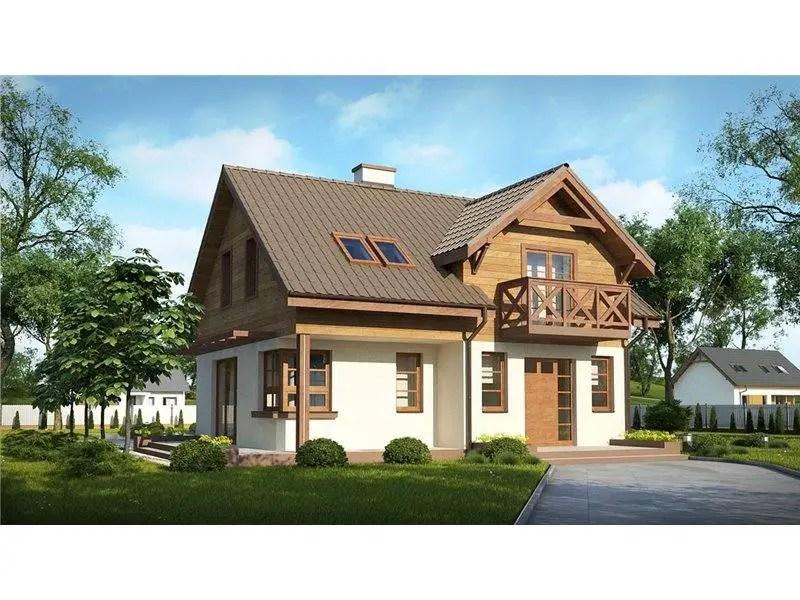 case decorate cu lemn
