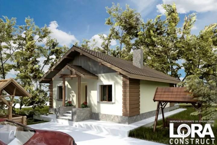 case pana in 100 mp cu 2 dormitoare
