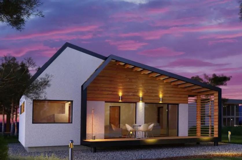 modele moderne de case din lemn economice si confortabile