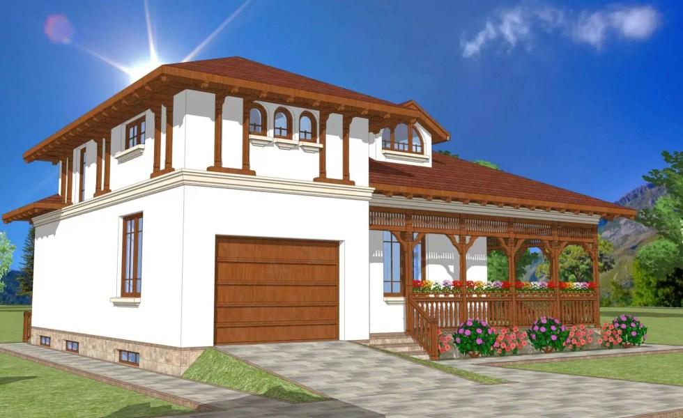 casa traditionala romaneasca 1