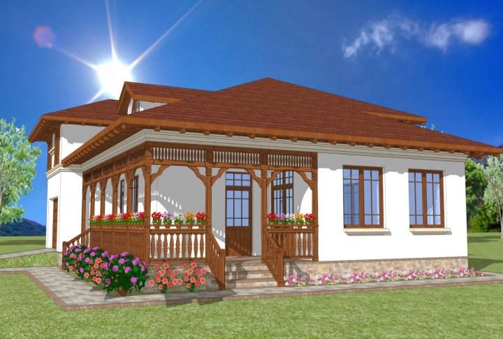 casa traditionala romaneasca 4