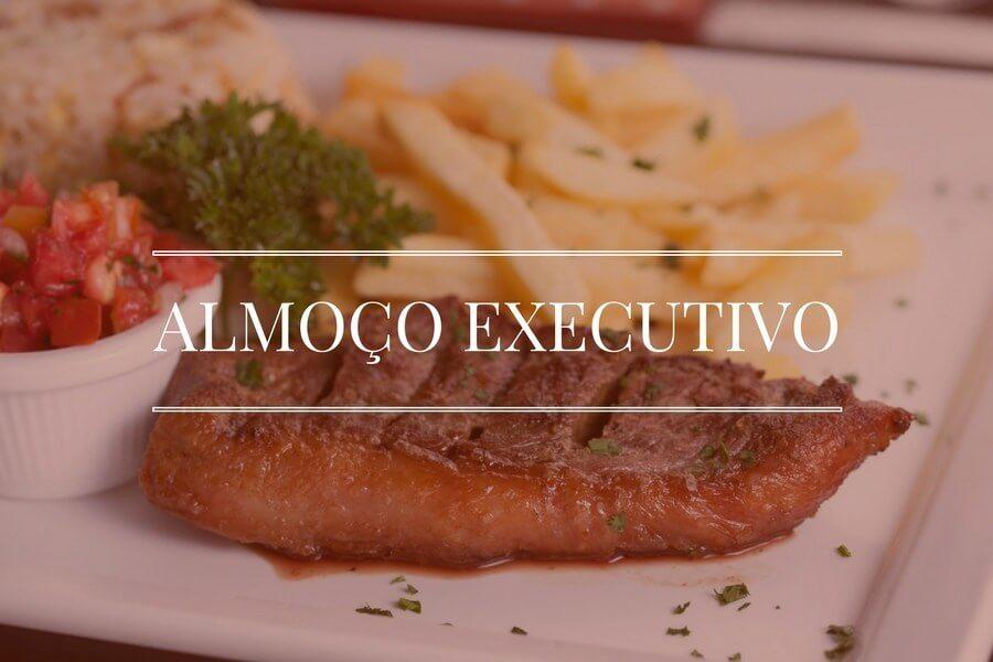 Almoço executivo a melhor opção da sexta