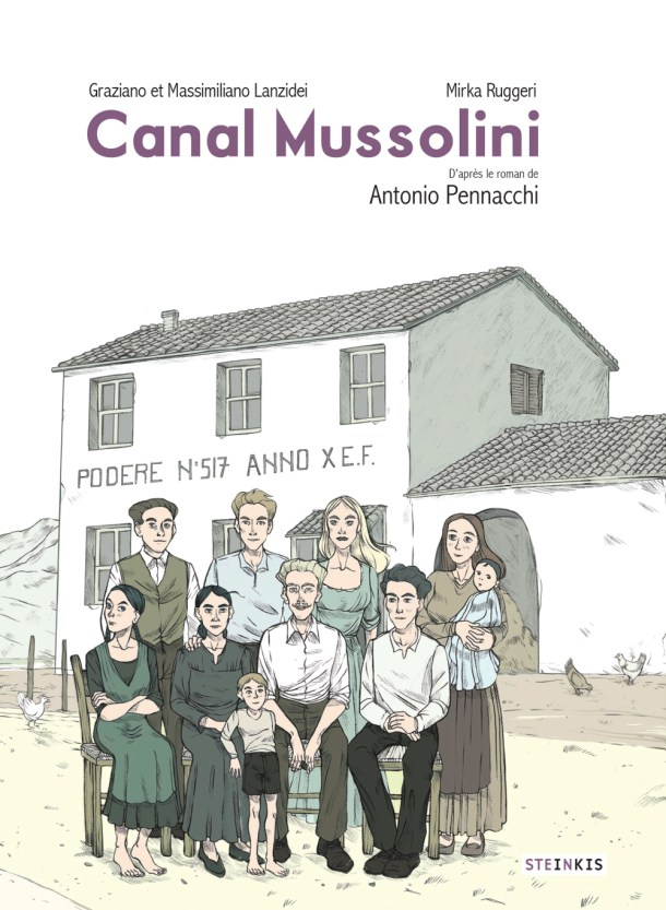 Steinkis_Canal Mussolini_COVERbis