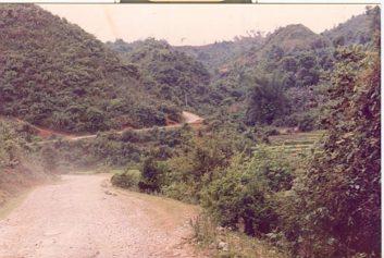 La RC 4 dans l'album (p. 19) et photographiée en 1990