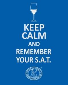 Keep calm and remember your SAT