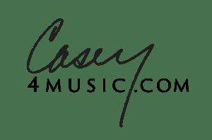 casey 4 music logo