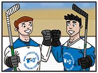 Chapter 08: Hockey Wedding