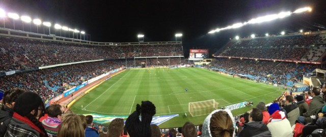 Stadium Panorama Shot