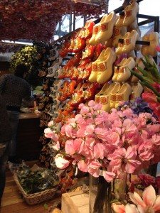 Flowers and clogs