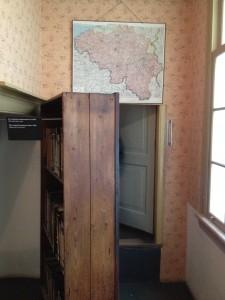 Hidden entrance to the Secret Annex