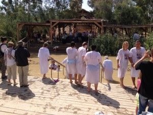 Qasr el-Yahud, the baptismal site of Jesus
