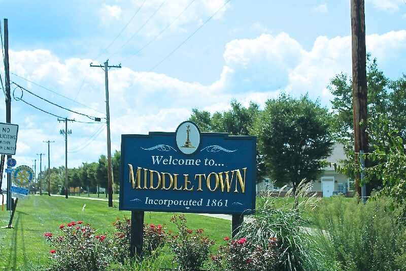 Middletown Sign