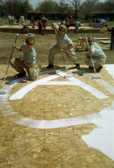 Americorps pride at Habitat for Humanity!