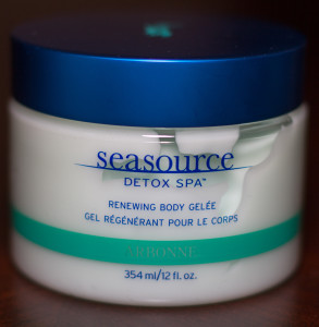A picture of Arbonne's Seasource Detox Spa Renewing Body Gelée