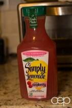 Simply Lemonade Raspberry Lemonade