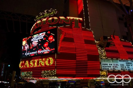Sam Boyd's Fremont Casino in old Las Vegas