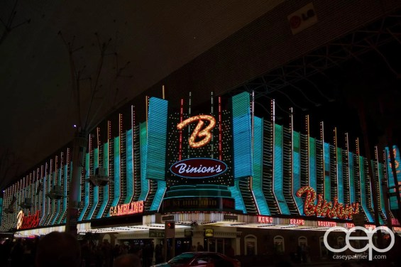 Binion's Steakhouse in old Las Vegas