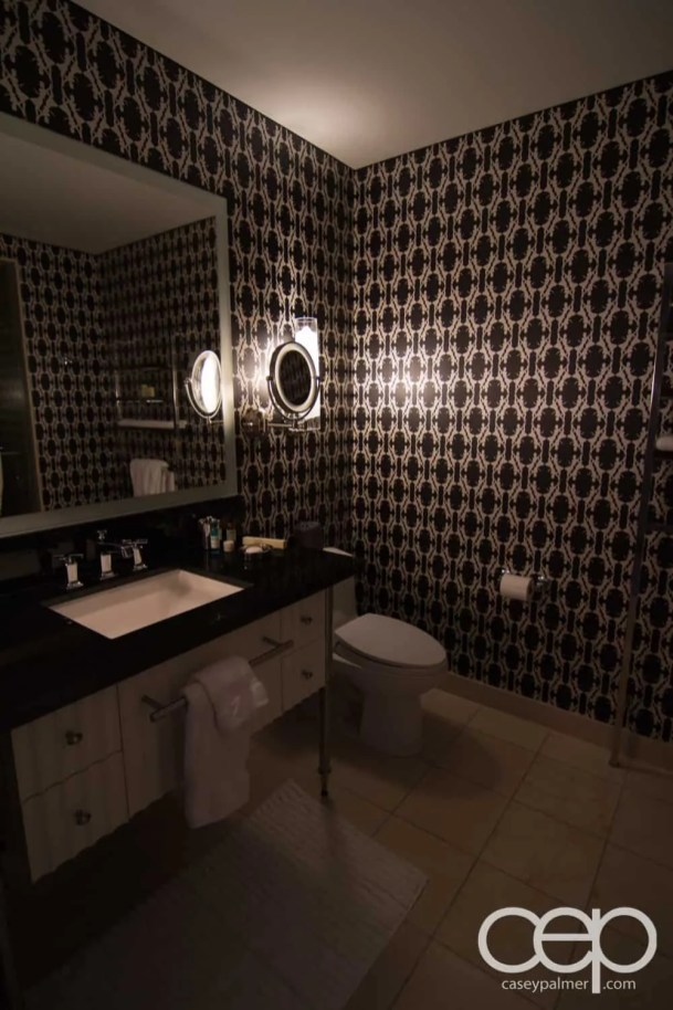 The Cosmopolitan Wraparound Terrace Suite — Powder Room —