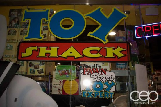 The Toy Shack in old Las Vegas