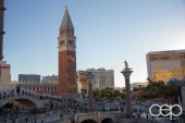 The Venetian is one of the more stunning hotels to look at in Vegas — you might not get IMMEDIATELY fooled into thinking you're in the middle of Venice, but it DOES have some nice touches.