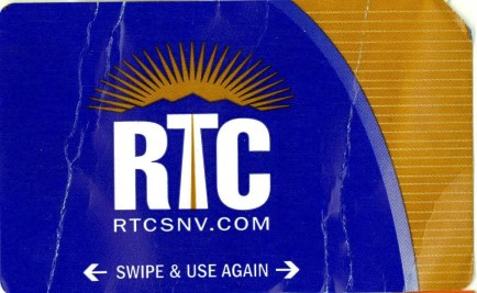 Las Vegas RTC Bus Ticket