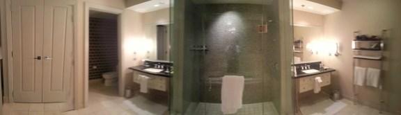 The Cosmopolitan Wraparound Terrace Suite — Master Bathroom —