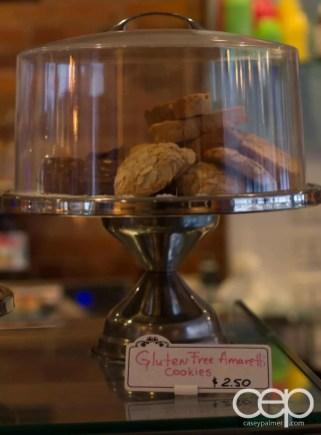 G... for Gelato and Espresso Bar — Gluten-Free Amaretto Cookies