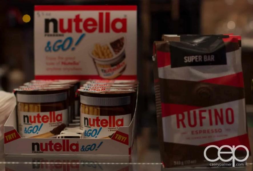 G... for Gelato and Espresso Bar — Nutella and Rufino