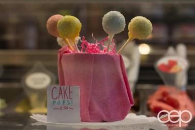 G... for Gelato and Espresso Bar — Cake Pops