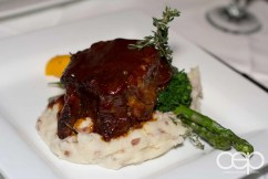The Smokey Beef Short Rib at The Martini House in Burlington, ON