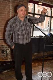 After Work Drinks Toronto 8 — #AWDTO — Robin James Wynne addressing the crowd