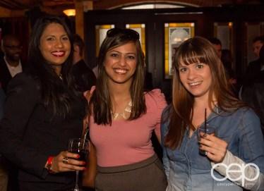 After Work Drinks Toronto 8 — #AWDTO — Friendly Tweeps Shashena, Anum and Jamie