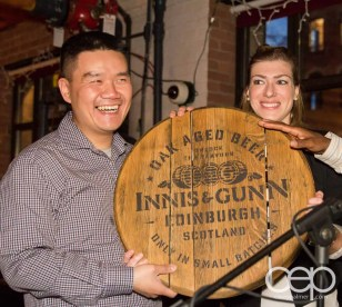 After Work Drinks Toronto 8 — #AWDTO — Henry, winner of the Innis & Gunn Barrel Top