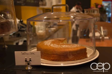 Saffron cake at Karelia Kitchen