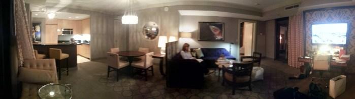 The Cosmopolitan Wraparound Terrace Suite — Den —