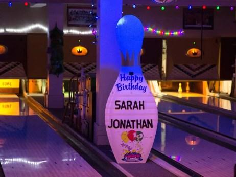 Sarah & Jon's Birthday Party — Danforth Bowl —