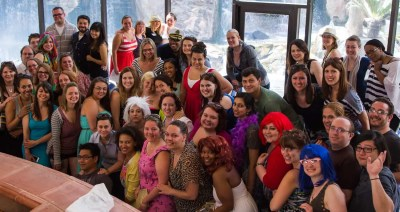 The shot of (almost) everyone at BiSC 2013 on the last day when all the feelings came out.