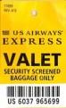 BiSC and Las Vegas 2013 — US Airways Baggage Tag