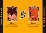 BiSC and Las Vegas 2013 — Cosmopolitan — Kid Robot — Street Fighter Enamel Keychain — THE FIGHTERS REVEALED!!!