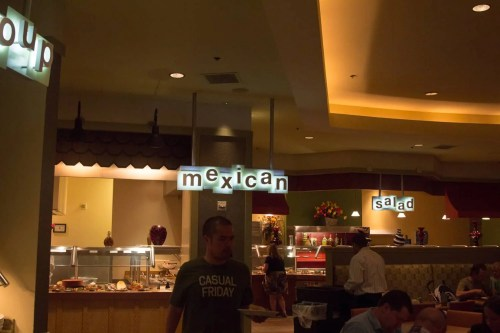 BiSC and Las Vegas 2013 — Planet Hollywood — Planet Hollywood — Spice Market Buffet — Mexican Station