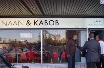 Scarborough Dishcrawl II — Naan & Kabob — Front of the Restaurant