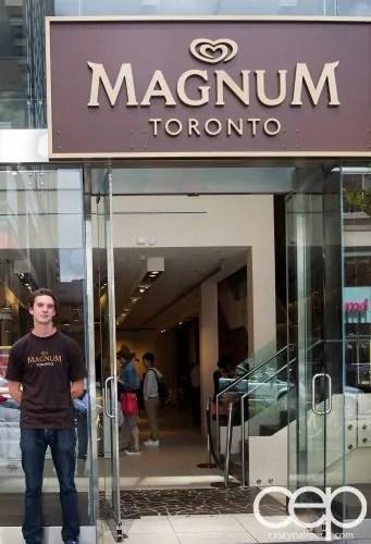 Magnum Pleasure Shop — Front Entrance
