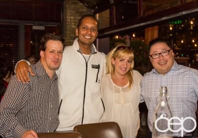 SaugaTweetupVI — SCADDABUSH — Jon Gauthier, Roberto Sarjoo, Sandy Trojansek and Calvin Htut