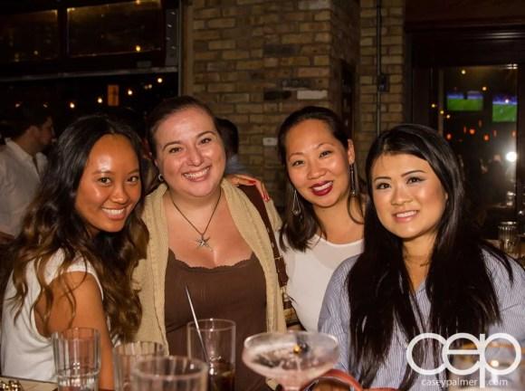 SaugaTweetupVI—SCADDABUSH—Quynh Nguyen, Christine Pantazis, Lise Liu and Adeline Chan