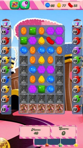 A screenshot of Candy Crush Saga Level 391