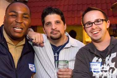 TacoTweetup — Kevin Kelly, Troy Oakley and Mark Shannon