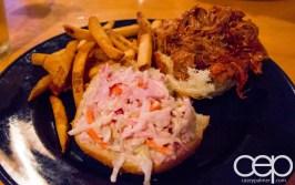 Viamede Resort & Dining — The Boathouse Pub — Pilsner Braised Pulled Pork