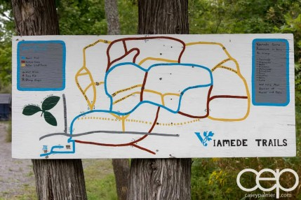 Viamede Resort & Dining — Trail Map