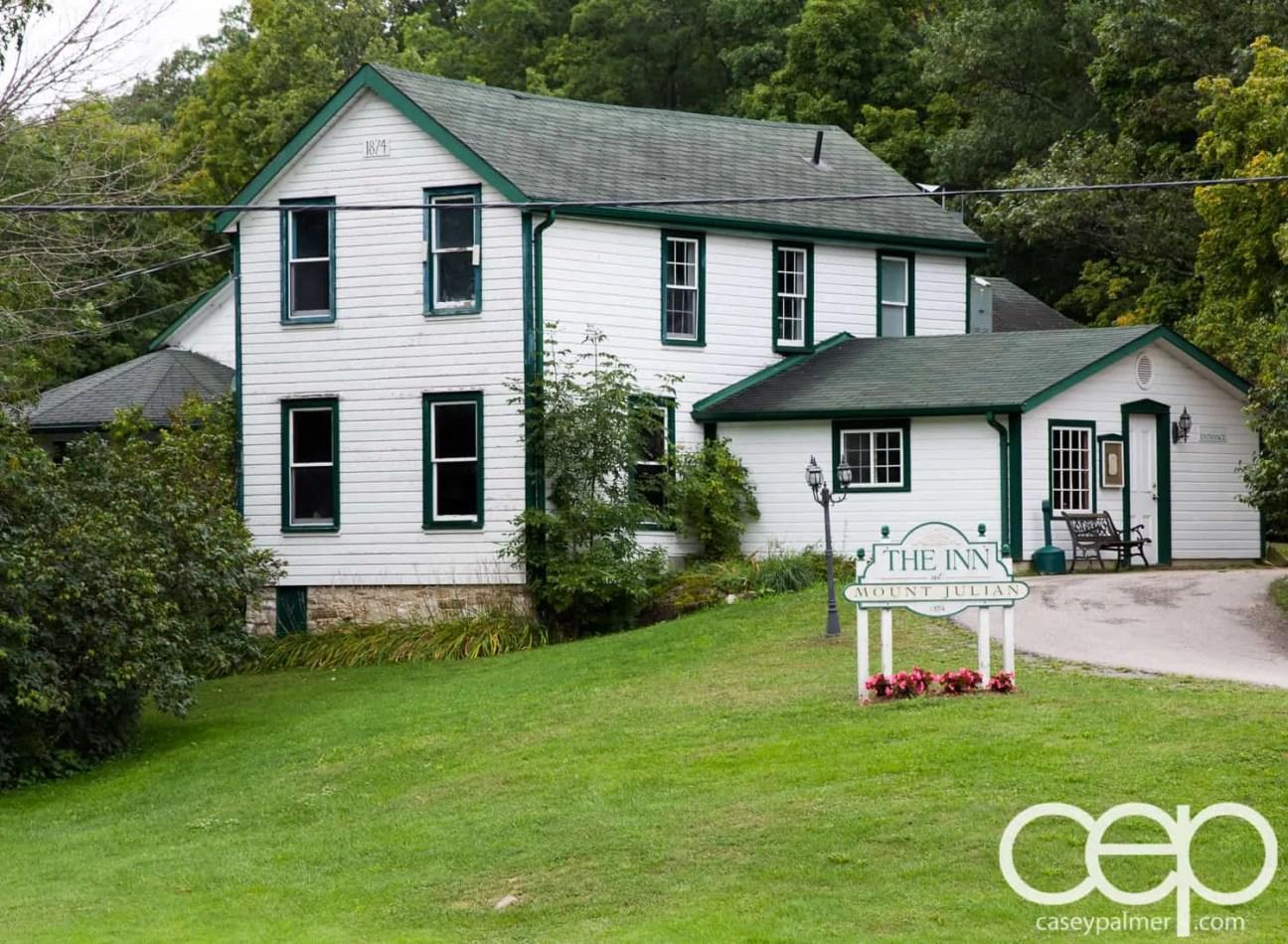 Viamede Resort & Dining — The Inn at Mount Julian — Full Building Shot