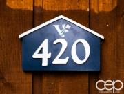 Viamede Resort & Dining — Cottage 420 — The Sign